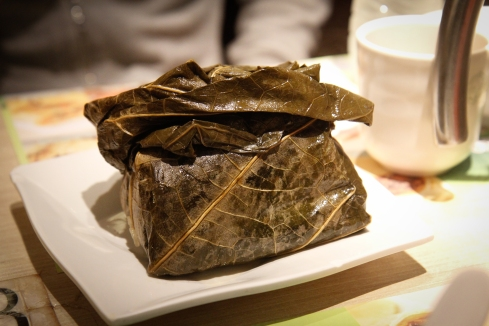 Glutinous rice dumpling